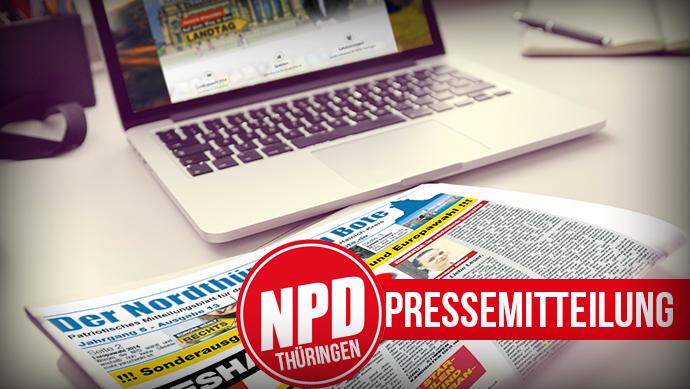 NPD unterstützt Proteste gegen Auslandsverlagerung von Luisenthaler Kranbaufirma