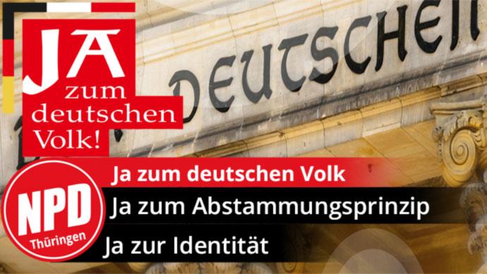 Ja zu Deutschland – Ja zum deutschen Volk!