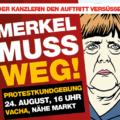 NPD empfängt Merkel in Vacha