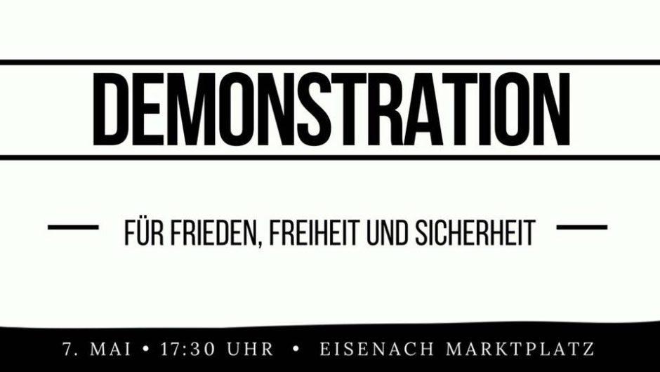 Auf zur Demo am 7. Mai in Eisenach!
