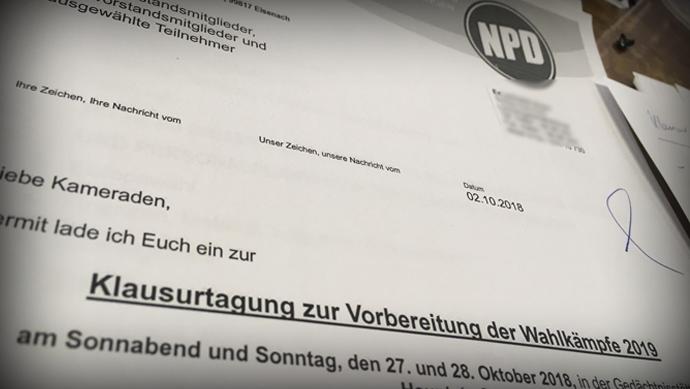 Mit Mut und Kraft ins Superwahljahr 2019- Gelungene Klausurtagung der NPD Thüringen