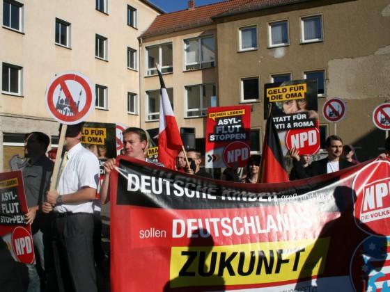 Kundgebungstour durch Thüringen (7.9.2013)