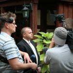 NPD-Spitzenkandidat Patrick Wieschke im Interview